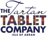 the tartan tablet company of arran logo